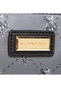 U.S. Polo Assn - Torebka U.S. POLO ASSN. - Hampton Flat Crossb. Bag BIUHD4888WVG000 Black. Kolor: czarny. Materiał: skórzane