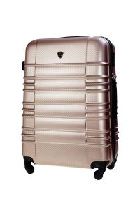 Beżowa walizka Solier