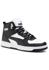 Czarne buty trekkingowe Puma