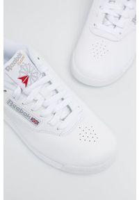 Reebok Classic - Buty Princess. Nosek buta: okrągły. Zapięcie: sznurówki. Kolor: biały. Materiał: guma. Model: Reebok Classic, Reebok Princess