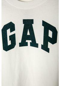 Niebieski t-shirt GAP na co dzień, casualowy