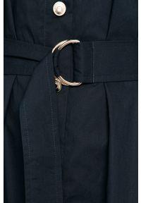 Niebieska sukienka Sportmax Code na co dzień, mini, plisowana, casualowa