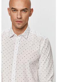 Biała koszula Only & Sons klasyczna, na co dzień, z długim rękawem