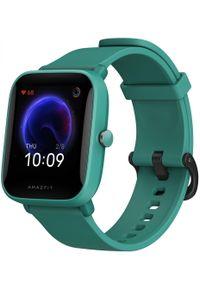 AMAZFIT - Amazfit Zegarek Bip U, Green. Kolor: zielony. Styl: sportowy