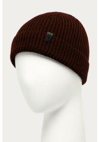 Brązowa czapka AllSaints