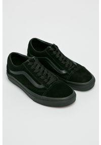 Vans - Tenisówki Old Skool. Nosek buta: okrągły. Zapięcie: sznurówki. Kolor: czarny. Materiał: guma