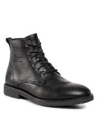 Czarne buty zimowe Panama Jack z cholewką