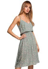 Sukienka MOE na ramiączkach, na co dzień, na lato