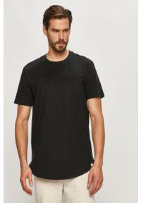 Czarny t-shirt Only & Sons casualowy, na co dzień