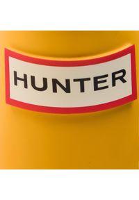Żółte kalosze Hunter z cholewką