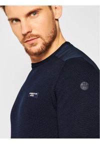 Niebieski sweter klasyczny North Sails