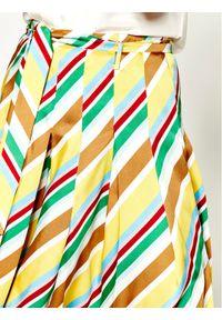 Spódnica plisowana Marella w kolorowe wzory