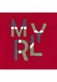 Mayoral Bluzka 173 Czerwony Regular Fit. Kolor: czerwony