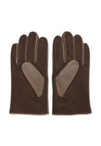 Beżowe rękawiczki Wittchen