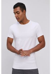 4f - 4F - T-shirt (2-PACK). Kolor: szary. Materiał: dzianina