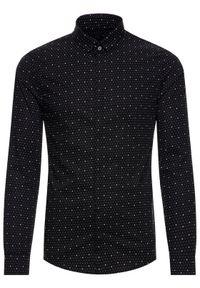 Czarna koszula biznesowa Armani Exchange