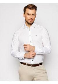 Tommy Hilfiger Tailored Koszula Plain MW0MW16490 Biały Regular Fit. Kolor: biały
