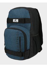 4f - Plecak miejski. Kolor: niebieski. Materiał: poliester