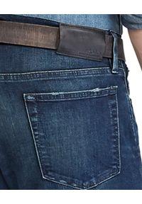 Ralph Lauren - RALPH LAUREN - Jeansy Skinny Jean. Okazja: na co dzień. Kolor: niebieski. Wzór: aplikacja. Styl: klasyczny, elegancki, casual