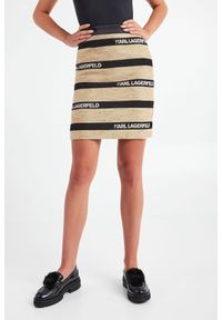 Karl Lagerfeld - SPÓDNICA KARL LAGERFELD. Materiał: tkanina, żakard