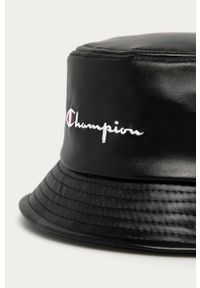 Czarny kapelusz Champion