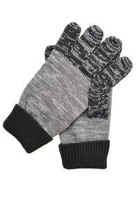 Szare rękawiczki TOP SECRET klasyczne