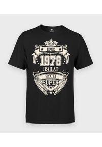MegaKoszulki - Koszulka męska Urodziny 2 + Twój miesiąc, rok, wiek. Okazja: na urodziny. Materiał: bawełna