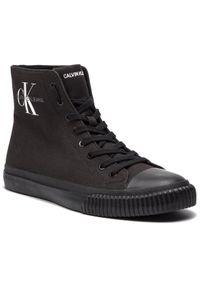 Czarne półbuty Calvin Klein Jeans