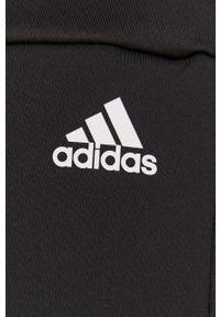 Adidas - adidas - Szorty sportowe. Kolor: czarny. Materiał: dzianina. Styl: sportowy