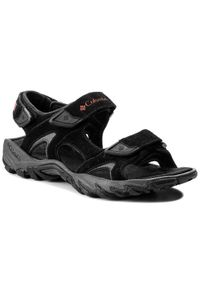 Czarne sandały trekkingowe columbia