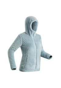 quechua - Polar turystyczny damski Quechua SH100 Ultra-Warm. Materiał: materiał, poliester. Długość: długie. Wzór: motyw zwierzęcy
