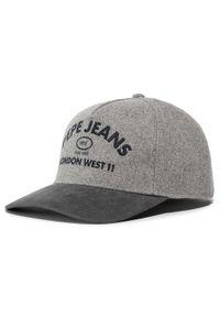 Szara czapka z daszkiem Pepe Jeans