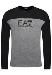 EA7 Emporio Armani Longsleeve 6HPT54 PJT3Z 3925 Szary Regular Fit. Kolor: szary. Długość rękawa: długi rękaw