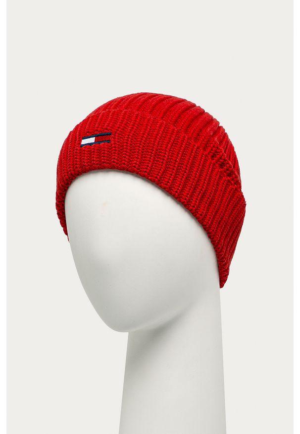 Czerwona czapka Tommy Jeans
