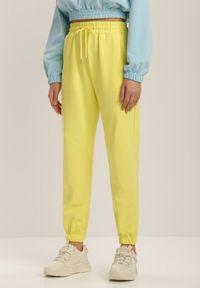 Renee - Żółte Spodnie Doriashell. Kolor: żółty