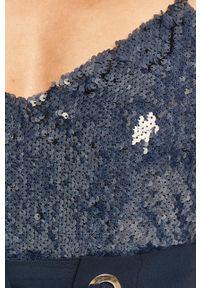 Niebieska bluzka DKNY casualowa, na ramiączkach