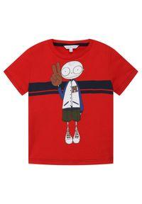 Czerwony t-shirt Little Marc Jacobs