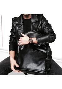 Czarny plecak Solier biznesowy