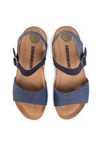 Niebieskie sandały Dr. Brinkmann marine