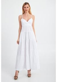 Sukienka TwinSet maxi, bez rękawów