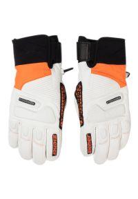 Biała rękawiczka sportowa Ziener narciarska