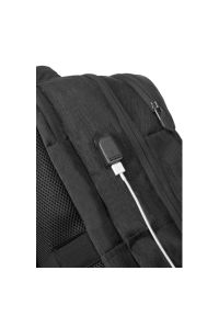 Szary plecak na laptopa AMERICAN TOURISTER casualowy