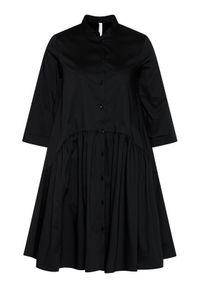 Czarna sukienka Imperial koszulowa