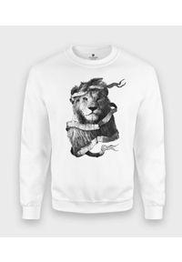 MegaKoszulki - Bluza klasyczna Lion. Styl: klasyczny