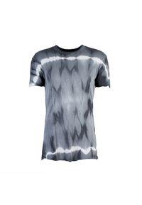 """La Haine Inside Us T-shirt """"Grimes"""". Okazja: na co dzień. Materiał: bawełna, prążkowany. Wzór: aplikacja. Styl: casual"""