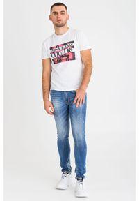T-shirt Versace Jeans Couture z okrągłym kołnierzem, z aplikacjami #5
