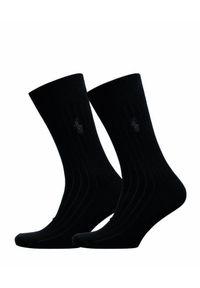 Polo Ralph Lauren - Skarpety POLO RALPH LAUREN. Materiał: tkanina, elastan. Wzór: aplikacja