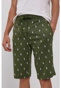 Polo Ralph Lauren - Szorty piżamowe. Kolor: zielony. Materiał: dzianina