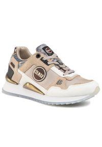 Colmar - Sneakersy COLMAR - Tyler Galax 146 Warm Gray/Warm Silver. Kolor: beżowy. Materiał: zamsz, skóra ekologiczna, materiał. Szerokość cholewki: normalna. Obcas: na płaskiej podeszwie