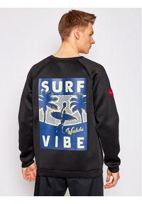 Waikiki Vibe Bluza Surf Vibe Czarny Regular Fit. Kolor: czarny